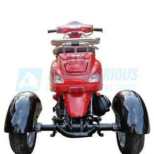 Rode scootmobiel